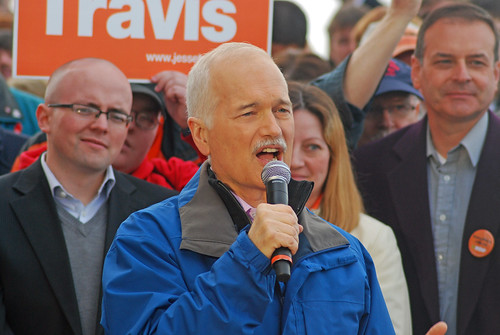 NDP Rally by Stephen Downes