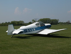JODEL D119  G-BAAW (BIKEPILOT) Tags: old flying airport aviation airfield buckenham aircrft egsv gbaaw jodeld119