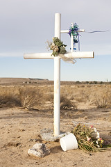 Roadside Memorial, Boron, Ca (william rugen) Tags: california travel digital canon memorial 5d allrightsreserved boron williamrugenphotography