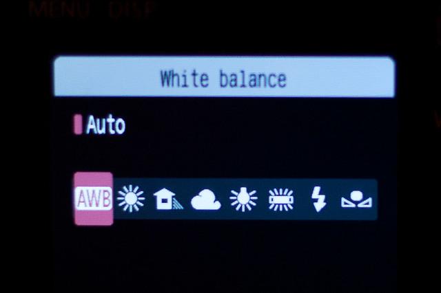 Balanço de Branco/White Balance