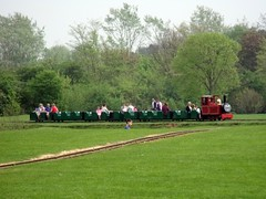 Train, Ferry Meadows
