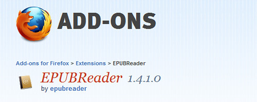 Firefox EPUB Reader