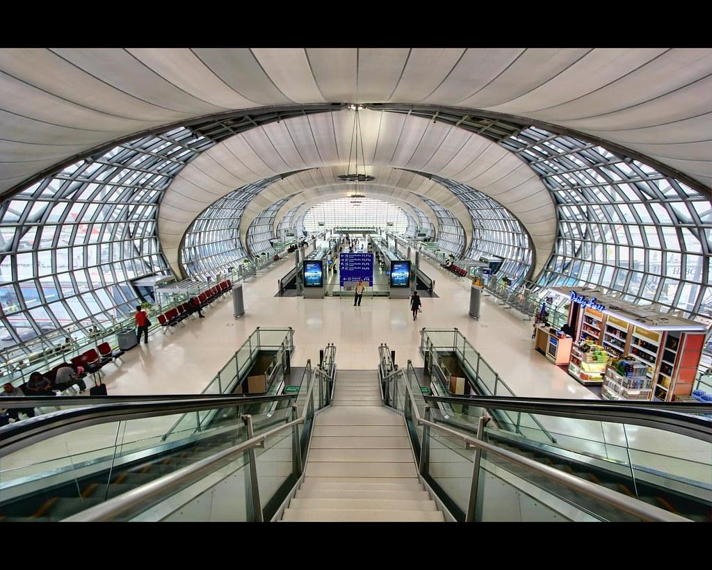 Bangkok International (Suvarnabhumi) Airport HDR