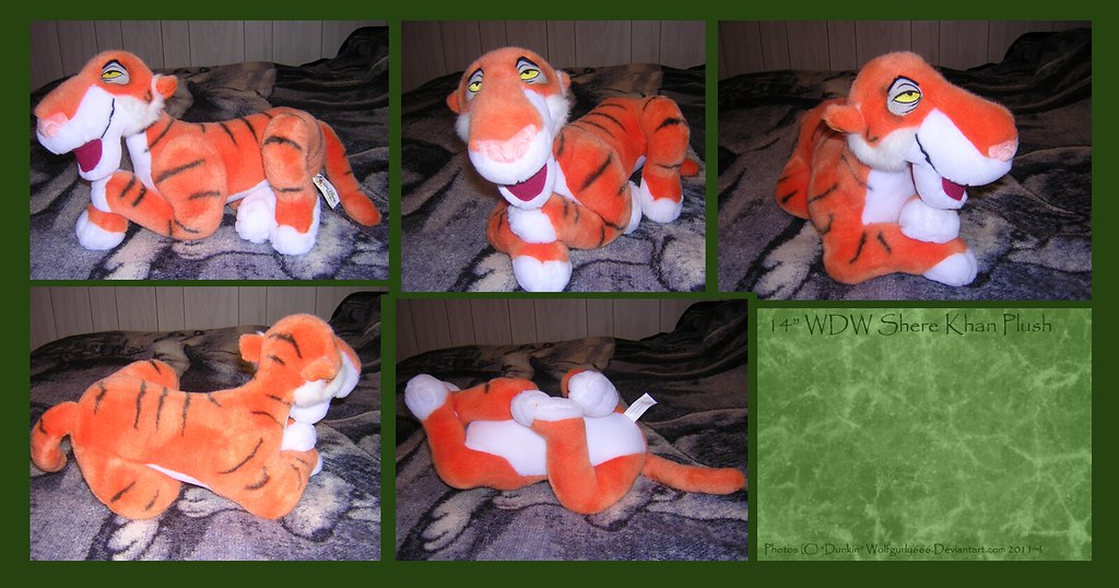 WDW Shere Khan Plush