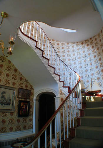Main Stairway to the Second Floor