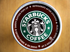 Reject when button is up (ohpapercut) Tags: food macro coffee drink starbucks   frappaccino  ohpapercut