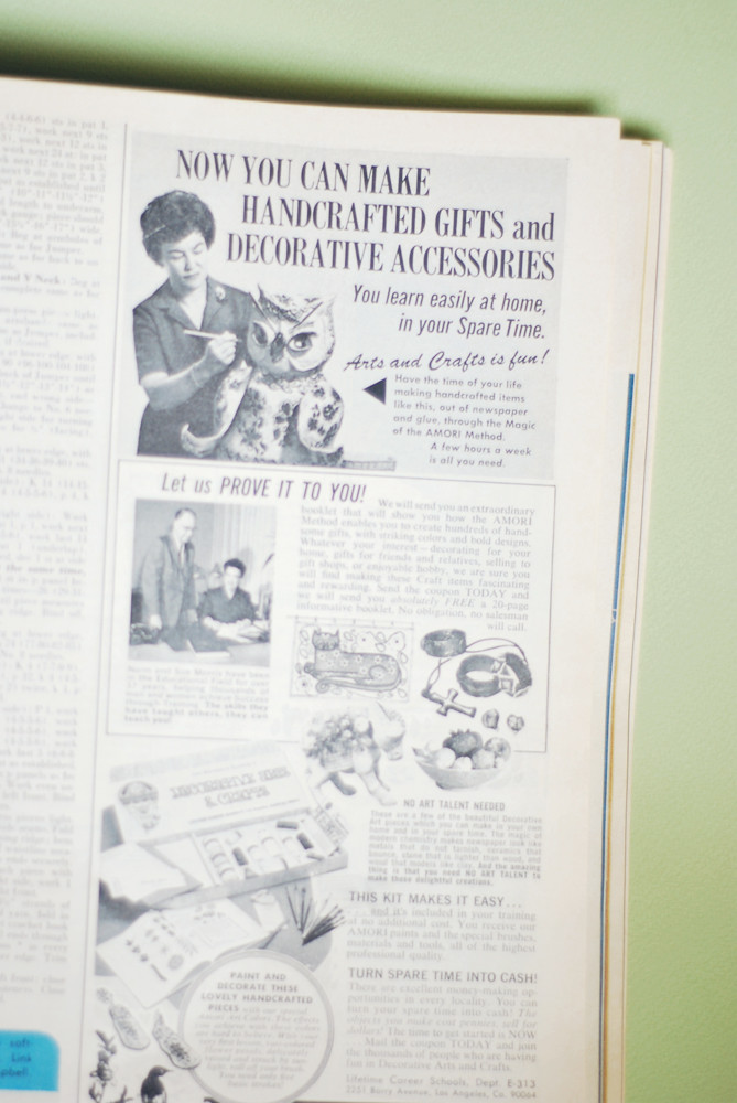 Needlework & Crafts Ads
