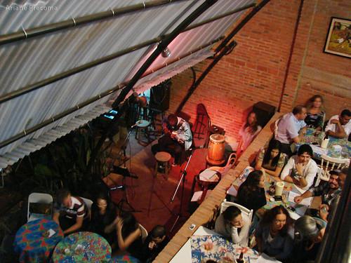 Visão interna do Bar do Lao
