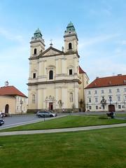 Church of the Assumption of the Virgin Mary (chamer80) Tags: church europe czechrepublic moravia valtice churchoftheassumptionofthevirginmary