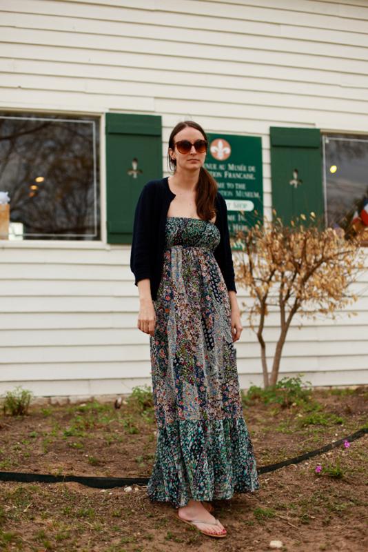 maxidress - austin sxsw street fashion style