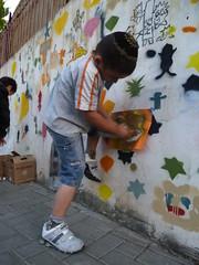 Shpira tlv (kufsened) Tags: street urban art love up fun israel stencil side down hardcore  ultra  brute tlv nigger perspectiv 2011   funki sened   rispect kufsonim  senseion