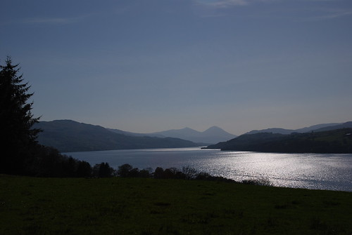 Looking west along Loch Tay