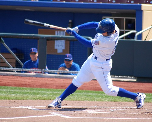 Hosmer with a swing