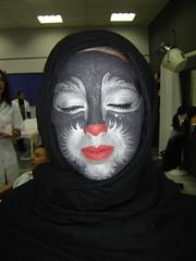 Alumna del PCPI maquillada