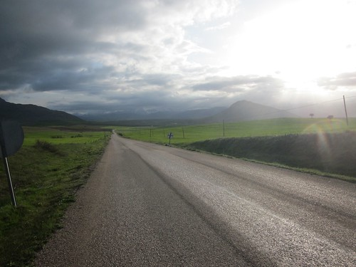 The road near Karsavuran, Turkey