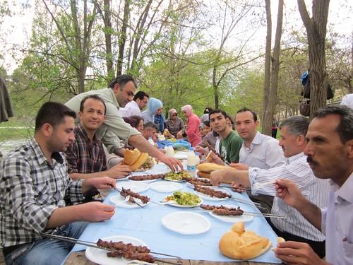 Turkish lunch.