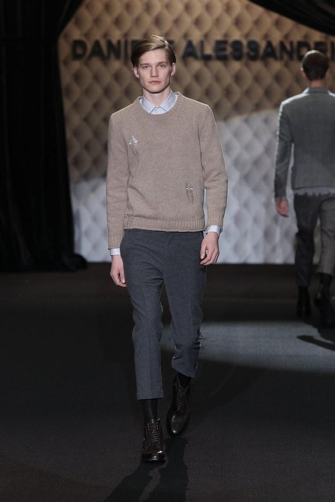Stephan Haurholm3032_FW11_Milan_Daniele Alessandrini(homme model)