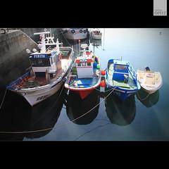 Boats @ Ferrol (malina.opitz) Tags: españa travelling canon boats puerto eos boat spain barco boote galicia porto hafen spanien ferrol travelphotography galizien reisefotografie reisefotos eos550d schifferboote