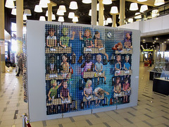 Exhibition 'Classroom' at Bibliotheek Rotterdam (Enno de Kroon) Tags: show art dutch topv2222 painting paper 3d arte classroom kunst topv1111 exhibition recycledart unusual recycle ecole schule cubist eggcarton tentoonstelling cubism cubismo  recyclart ricreazione eggcartons  cubisme kubismus schoolklas eierkubisme eiercubisme eierkubismus eggcubism eierdoos ennodekroon bibliotheekrotterdam papierkunst rcupart trashreuse ovocubismo   eggboxart artrecycl eggtrayart    tojskubizmus