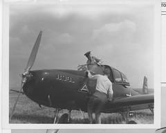 """04-01864 Ryan L-17 Navion c. 1947 (San Diego Air & Space Museum Archives) Tags: airplane ryan aircraft aviation usarmy aeronautics unitedstatesarmy navion pyramidofpower l17 """"san diego"""" field"""" sandiegoairandspacemuseum sdasm 7tharmy ryanaeronautical l17navion ryannavion octofoil """"ryan seventharmy """"lindbergh aeronautical"""" ryanl17navion ryanl17"""