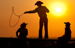 """Sunrise Roping"""