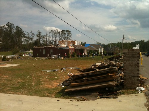 Alabama Tornado Damage