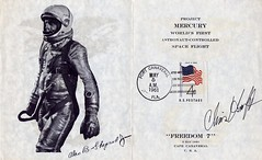 ALAN SHEPARD - FREEDOM 7 / FDC SIGNE CHRIS KRAFT