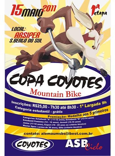 Coyotes Copa Cartaz