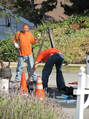 Pipe and Manhole Rehabilitation (CAHairyBear) Tags: man men workers mann hombre manner homme hom