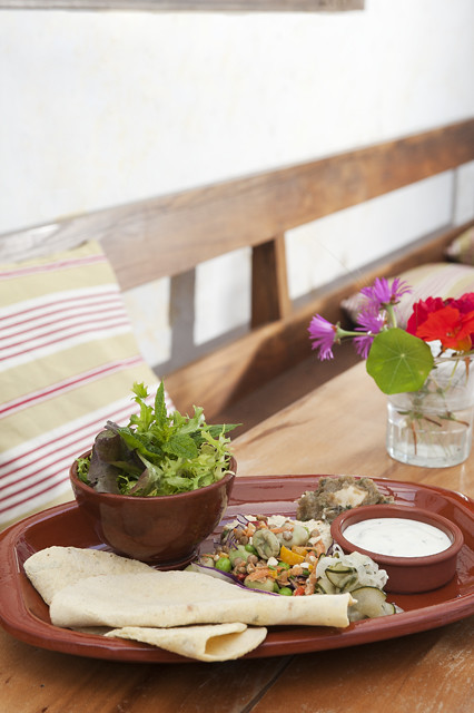 Dish of the day: Sandy's Mezze Plate