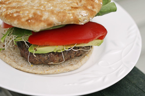 super veggie beef burger 4