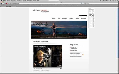 www.michaelstange.com website von fashionfotograf michael stange aus osnabrück