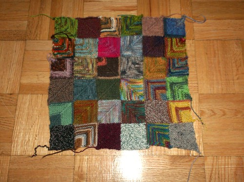 Patchwork Blanket - Centre Square
