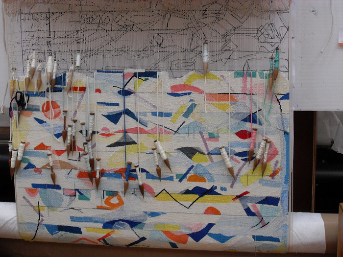 Yvonne Audette Tapestry