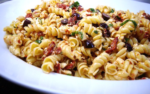 ... of Parsley: Pasta Salad Tossed in a Sun-Dried Tomato Vinaigrette