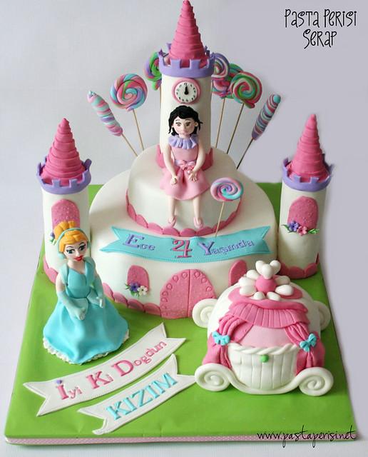 Cinderella Castle Cake - ECE