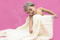 11 Month Old Baby Girl .. (Rawan Mohammad ..) Tags: old pink boy portrait baby cute art girl kids children photography kid nikon artist photographer child little photos australia 11 brisbane mohammed saudi arabia tamron month mohammad 2010 rn   2011 rawan               d300s rnona     almuteeb