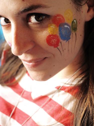 Balloons paint