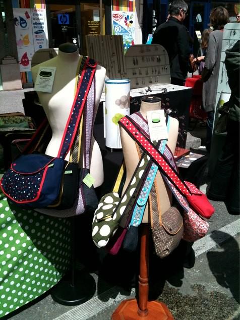 stand X-Rousse en Fête/ bustes sacs