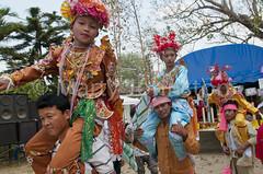 Poi Sang Long - a picture essay (Marty Johnston) Tags: festival asian thailand religious temple asia buddha burma buddhist religion culture monk buddhism monks thai chiangmai myanmar shan wat ordination lanna novice novices 5photosaday poisanglong earthasia totallythailand poysanglong