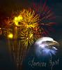 American Spirit (Chandler Photography) Tags: bird america photoshop poster fireworks baldeagle patriotic