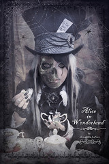 We Are All Mad Here ~ Mad Hatter (Alexandria LaNier) Tags: party classic fairytale dark mouse er tea zombie fantasy series madhatter aliceinwonderland alexandrialanier