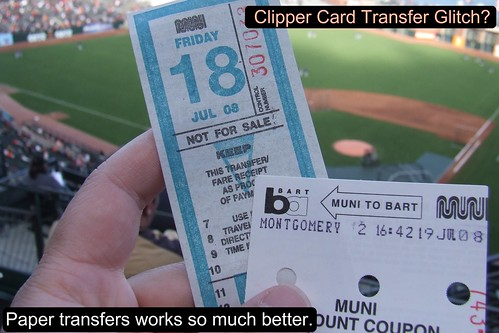 Muni Transfer and Muni to BART Coupon