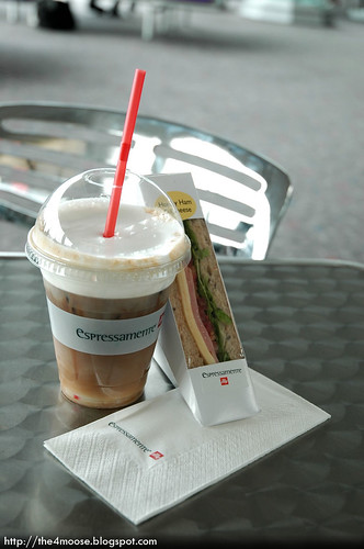 Espressamente Illy - Mocha and Ham & Cheese Sandwich