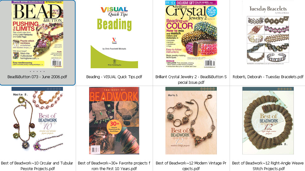 beadweaving ebook amp magazines collection free ebooks