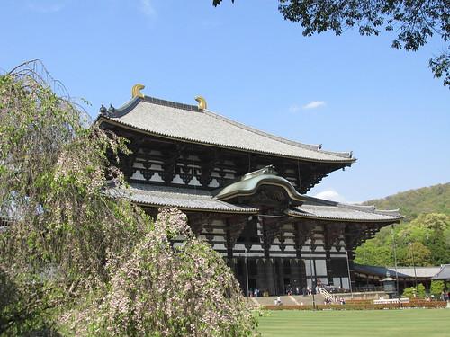Grand temple de Nara, Japon