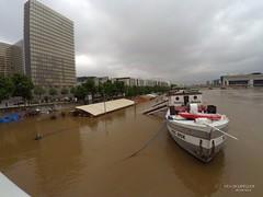 Crue de la Seine (sc.eric) Tags: crue seine paris bnf quai inondation fleuve eau france