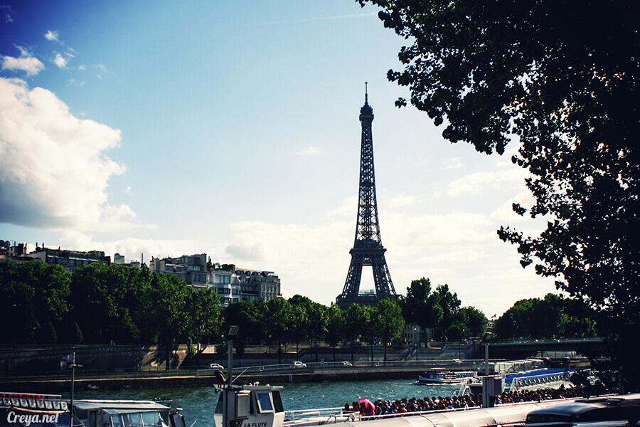 2016.10.09 ▐ 看我的歐行腿▐ 艾菲爾鐵塔,五個視角看法國巴黎市的這仙燈塔 10