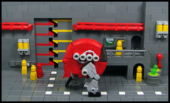 Johnny Walker - Red Label (Karf Oohlu) Tags: lego moc walker johnnywalker redlabel microscale microfig diorama scifi