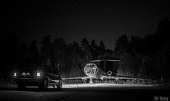 Night Ride (Sir, Rony) Tags: sirrony sir rony photography photoshoot photographs photo best beautiful beauty love talent latvija latvians lat visit visitlatvia latvia lux luxury awesome cool bmw x5 x 5 b m w x5m dark black forest scary plane airplane abandoned white bw blackandwhite blackwhite bwphoto bestoftheday rally pictures pics pic